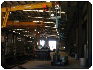 Gantry crane repairs