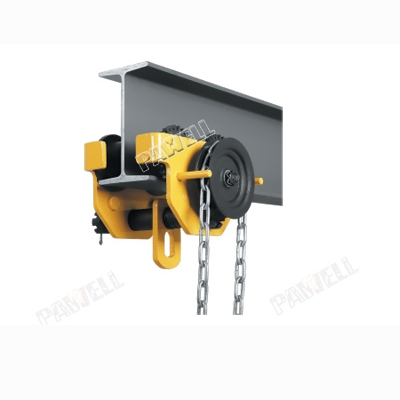 Geared Chain Pulley Trolley